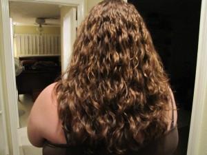 Post-perm hair