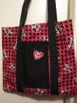 Pink Skull & Crossbones Bag