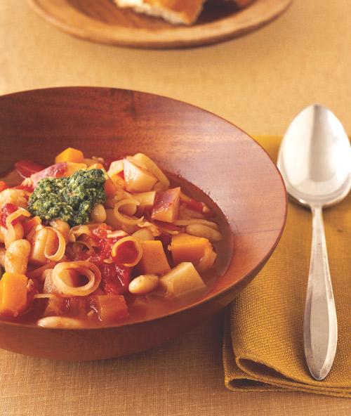 autumn harvest minestrone