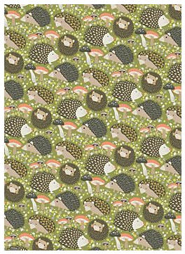 Hedgehogs Wrapping Paper