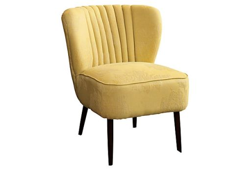 Valencia Club Chair, Butter