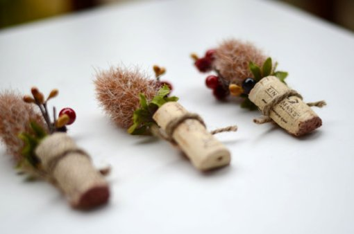 Rustic Wedding Boutonnieres