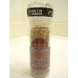 trader joes Cinnamon and sugar grinder