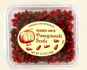 trader joe's Fresh Pomegranate Seeds