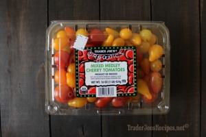 trader joes Organic Mixed Medley Cherry Tomatoes