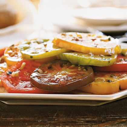 Marinated Heirloom Tomatos with Tarragon