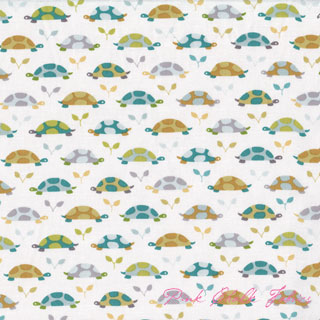 Patty Sloniger Les Amis Turtle Parade Teal