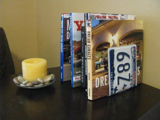 TEXAS LICENSE PLATE Bookends