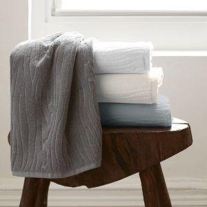 Organic Woodgrain Towel