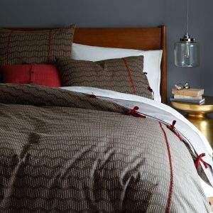 Rivulet Stripe Duvet Cover + Shams
