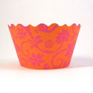 Cupcake wrappers - Hannah - Citrus