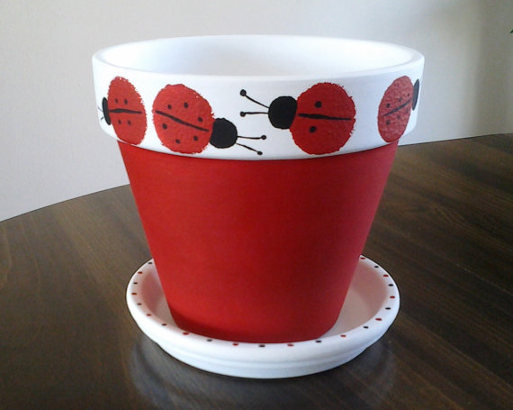 Paint pot pictures to pin on pinterest - Terra Cotta On Pinterest Painted Clay Pots Painted