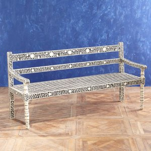 Moorish Bone Bench