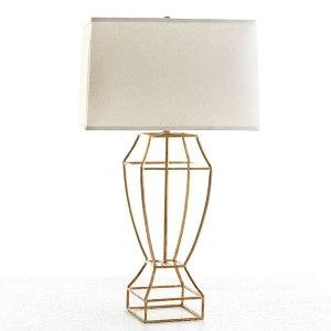 Gilt Balustrade Lamp