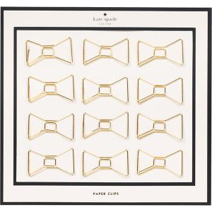 Kate Spade Bow Paper Clips