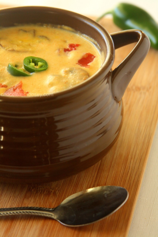 Roasted Jalapeno Soup